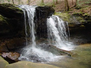 Falls at Frozen Head State Park, Wartburg, TN / Morgan County