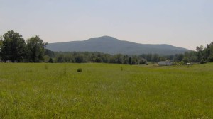 View of the Prominent Lone Mountain in Morgan County, TN - Lone Mountain State Forest