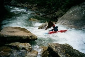 Kayaking in the Catoosa WMA