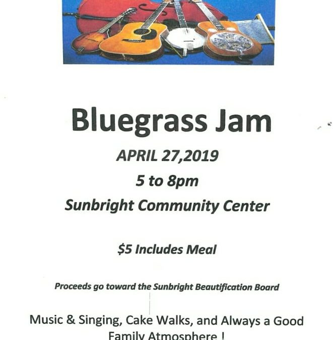 Sunbright Bluegrass Jam